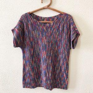 Cable & Gauge Multicolor Knit Top M